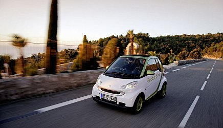 Smart Electric Drive fortwo coupe