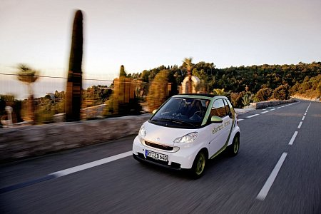 Smart Electric Drive ED3 fortwo coupe