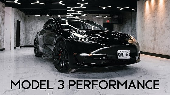 Video: 2021 Tesla Model 3 Performance | Keeping Up With The Teslas