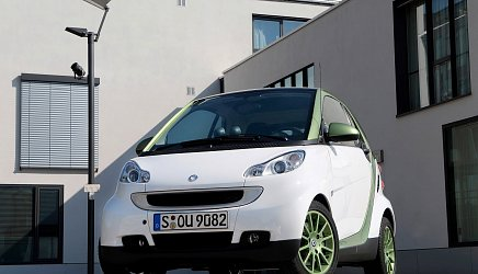 Smart Electric Drive ED3 fortwo coupe photo 1