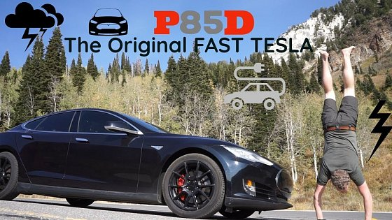 Video: Sam Reviews: 2015 Tesla Model S P85D (Insane plus)