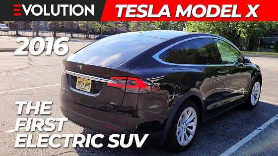 Video: 2016 Tesla Model X - Real World Review