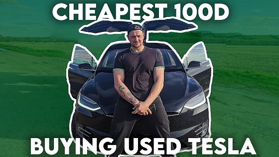 Video: BUYING CHEAPEST USED TESLA MODEL X 100D : PART 1