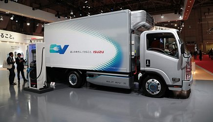 Isuzu EV Truck photo 1