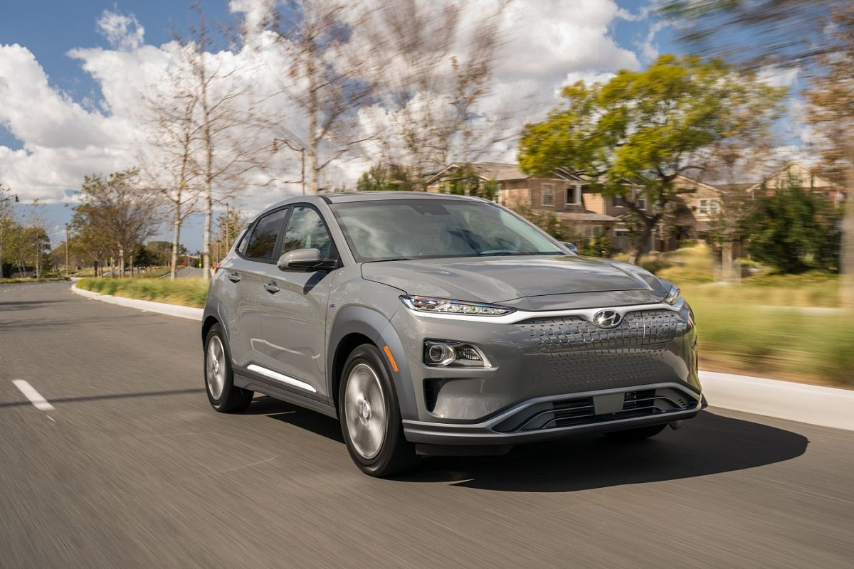 Hyundai Kona Electric Long-range