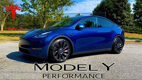 Video: Tesla Model Y Performance - POV Review - The Perfect All-Around Automobile