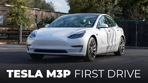 Video: First Drive In My 2021 Tesla Model 3 Performance