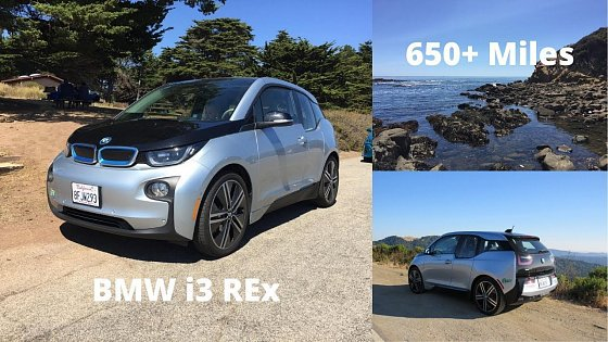 Video: 2015 BMW i3 REx 60Ah - 650+ Mile Road Trip With Stats!