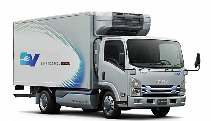 Isuzu EV Truck photo 0