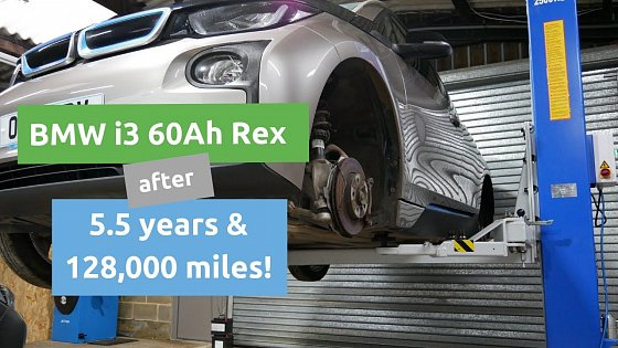 Video: Looking at our BMW i3 60Ah REX after 128,600 miles (206,966 km)