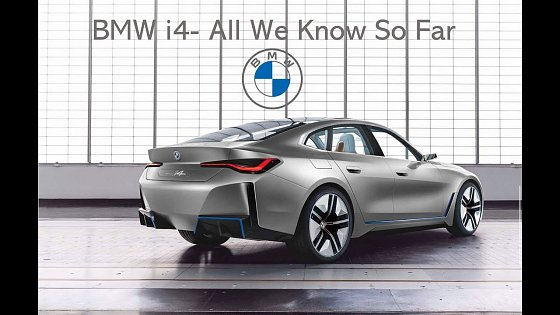 Video: BMW i4 | Everything we know so far