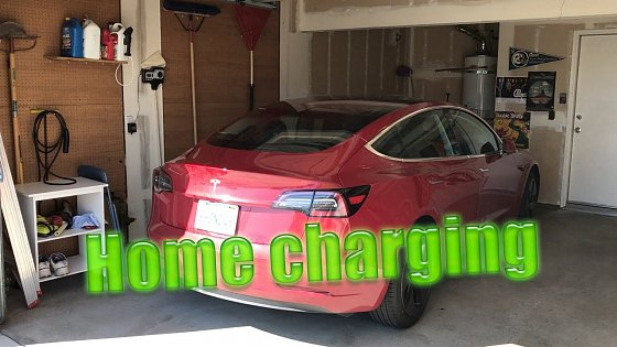 Video: my home charging setup for tesla model 3 midrange
