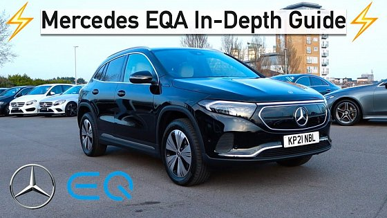 Video: Mercedes EQA 250 | In depth Guide & First Impressions Drive!