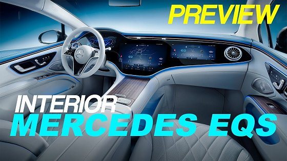 Video: Mercedes EQS interior REVEAL with Hyperscreen and more details of the electric S-Class!