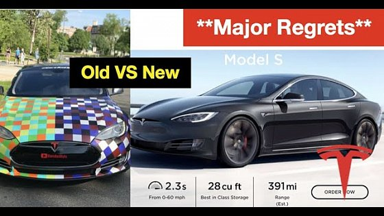 Video: Why I Regret Buying An Older Used Tesla Model S P85 | Vlog 428