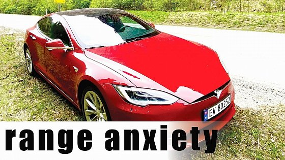 Video: 2019 Tesla Model S 75D range anxiety, range test