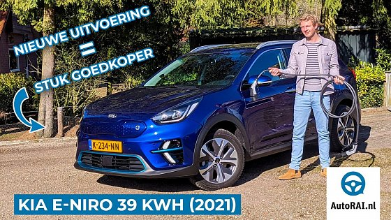 Video: Kia e-Niro 39 kWh (2021) review - Stuk goedkoper, even goed? - AutoRAI TV