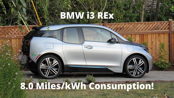 Video: 2015 BMW i3 REx 60Ah - Real World City Hypermiling Test! Incredible Efficiency!