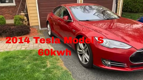Video: 2014 Tesla Model S, 60kwh, Full Review, AP, Great Loaner, Loved It