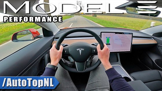 Video: 2021 Tesla Model 3 Performance 462HP POV Test Drive by AutoTopNL