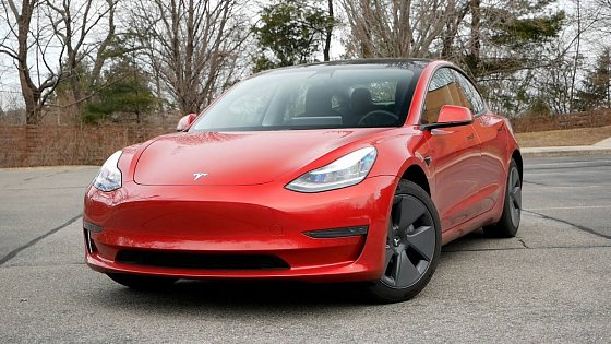 Video: 2021 Tesla Model 3 Standard Range Review - Walk Around and Test Drive