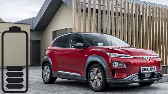 Video: Hyundai Kona Electric 39.2 kWh range: real-life test. 6.83 mpkWh, 91 Wh/km :: [1001cars]