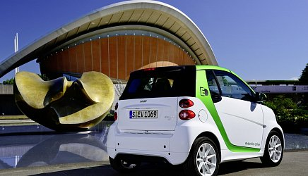Smart Electric Drive ED3 fortwo coupe photo 3