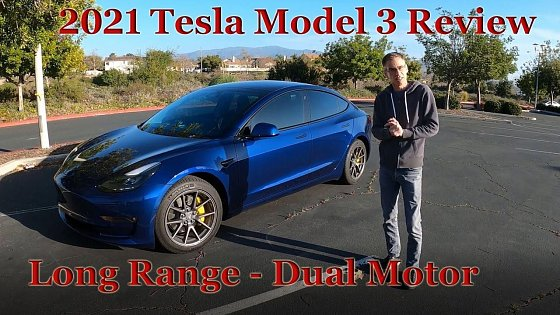 Video: I bought a 2021 Tesla Model 3 Long Range - the good and the bad!