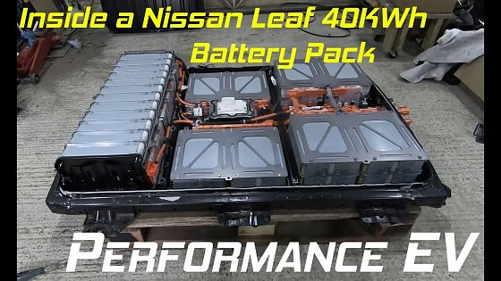 Video: Opening up a Nissan Leaf 40kWh Battery Pack and taking a look inside - Porsche 911 EV Conversion