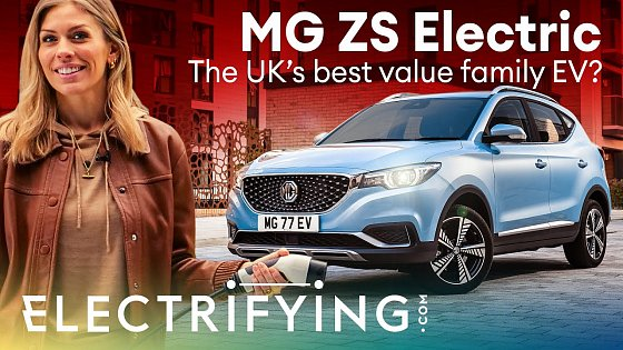 Video: MG ZS EV SUV 2021 in-depth review: The UK's best value family EV? / Electrifying