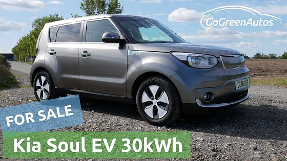 Video: For sale: 2018 Kia Soul EV 30kWh in titanium silver