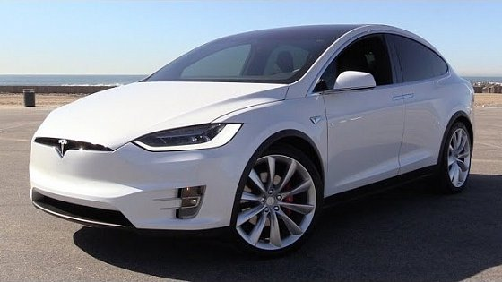 Video: 2016 Tesla Model X P90D Signature w/Ludicrous Mode - Power Up, Test Drive & In Depth Review