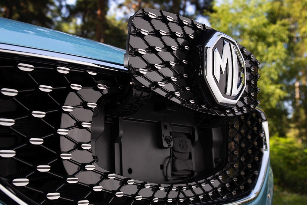 MG ZS EV Exclusive фото зарядного порта