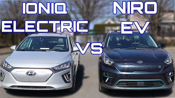 Video: Hyundai Ioniq Electric vs Kia Niro EV