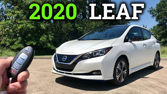 Video: 2020 Nissan LEAF Review | Paying the EV Premium