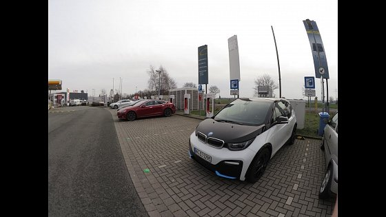 Video: BMW i3s 94ah REX - Roadtrip von HH nach Ddorf; Probleme an der innogy Ladesäule