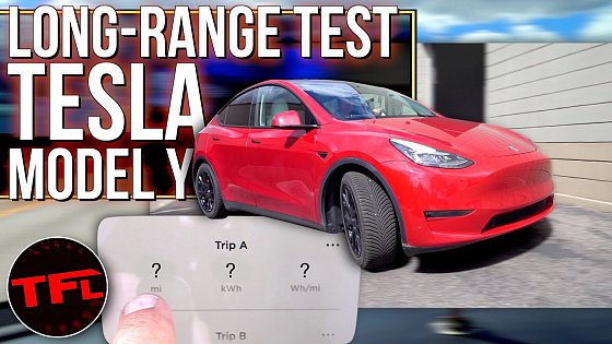 Video: Tesla SAYS My Model Y Performance Will Make It Over 300 Miles...Let's See If That's Really True!