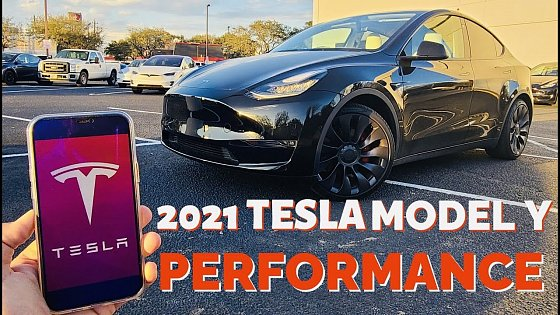Video: 2021 Tesla Model Y Performance: Start up & Full Review