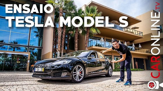 Video: LEVEI o TESLA Model S P85d de FIM de SEMANA! [Review Portugal]