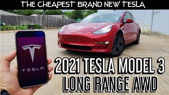 Video: 2021 Tesla Model 3 Long Range: Full Review