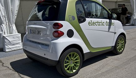 Smart Electric Drive ED2 fortwo coupe photo 2