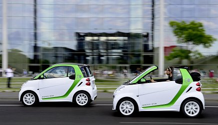 Smart Electric Drive ED3 fortwo coupe photo 2