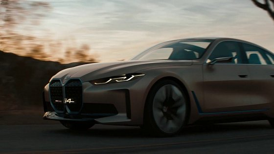 Video: The BMW Concept i4: New Electric Car | BMW USA