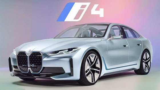 Video: 2022 BMW i4 in Depth Look - Better than a Tesla & Mustang Mach E?