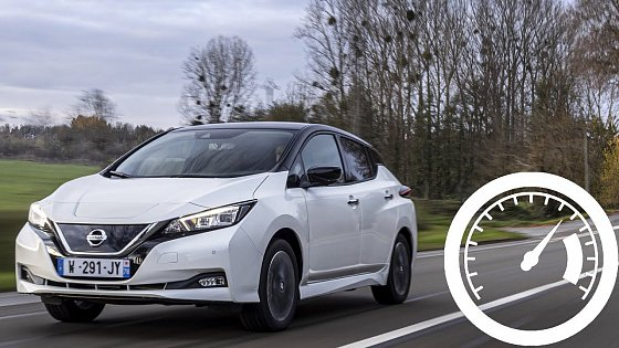 Video: Nissan Leaf e+ 62 kWh acceleration: 0-60 mph, 0-100 km/h mph top max speed :: [1001cars]