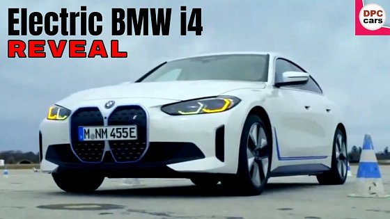 Video: Electric BMW i4 Reveal